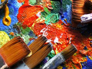 The World Can Be United Through Art – Brush Fire Painting