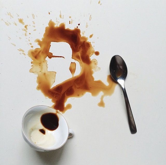 Coffee Painting Art
